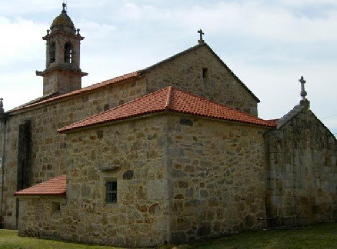 grietas, humedades, parroquía, Galicia