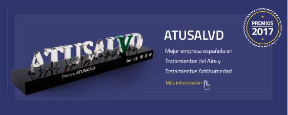 Atusalud Mejor empresa española en tratamientos del aire y tratamientos antihumedad