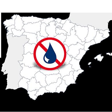 Mapa delegaciones España Murprotec