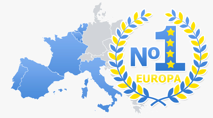 Mapa europa Murprotec