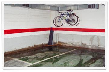 humedades paredes sotano garaje