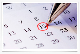 infiltraciones beneficios calendario