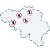 Delegaciones Murprotec Bélgica