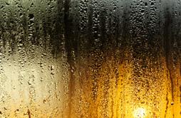 condensación ventana