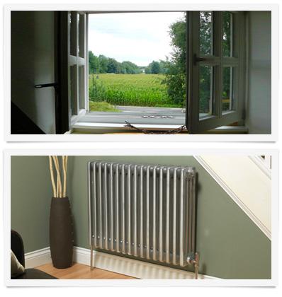 ventilación calefacción