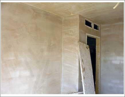 El yeso un material incompatible con los problemas de - Aislar paredes interiores ...