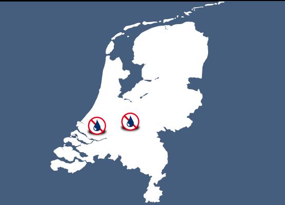 Mapa delegaciones Murprotec Holanda