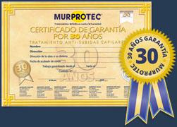 Garantía Murprotec