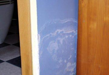 pared carga humedades