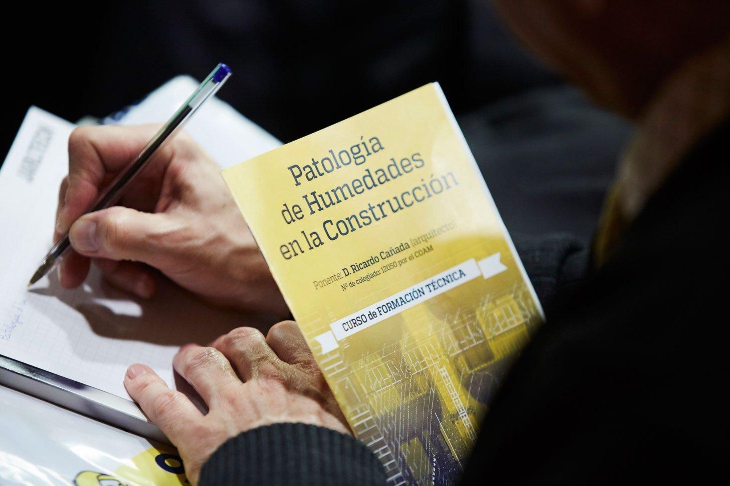 El curso sobre patolog as de las humedades estructurales for Curso mantenimiento de piscinas comunidad valenciana