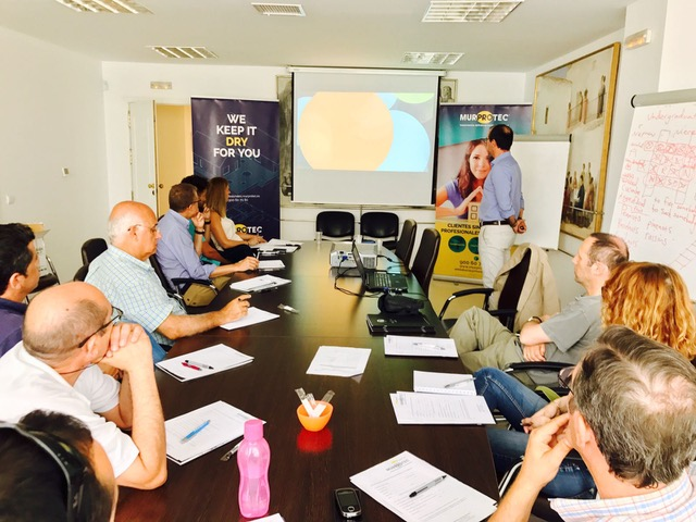 Jornada sobre humedades Málaga Murprotec