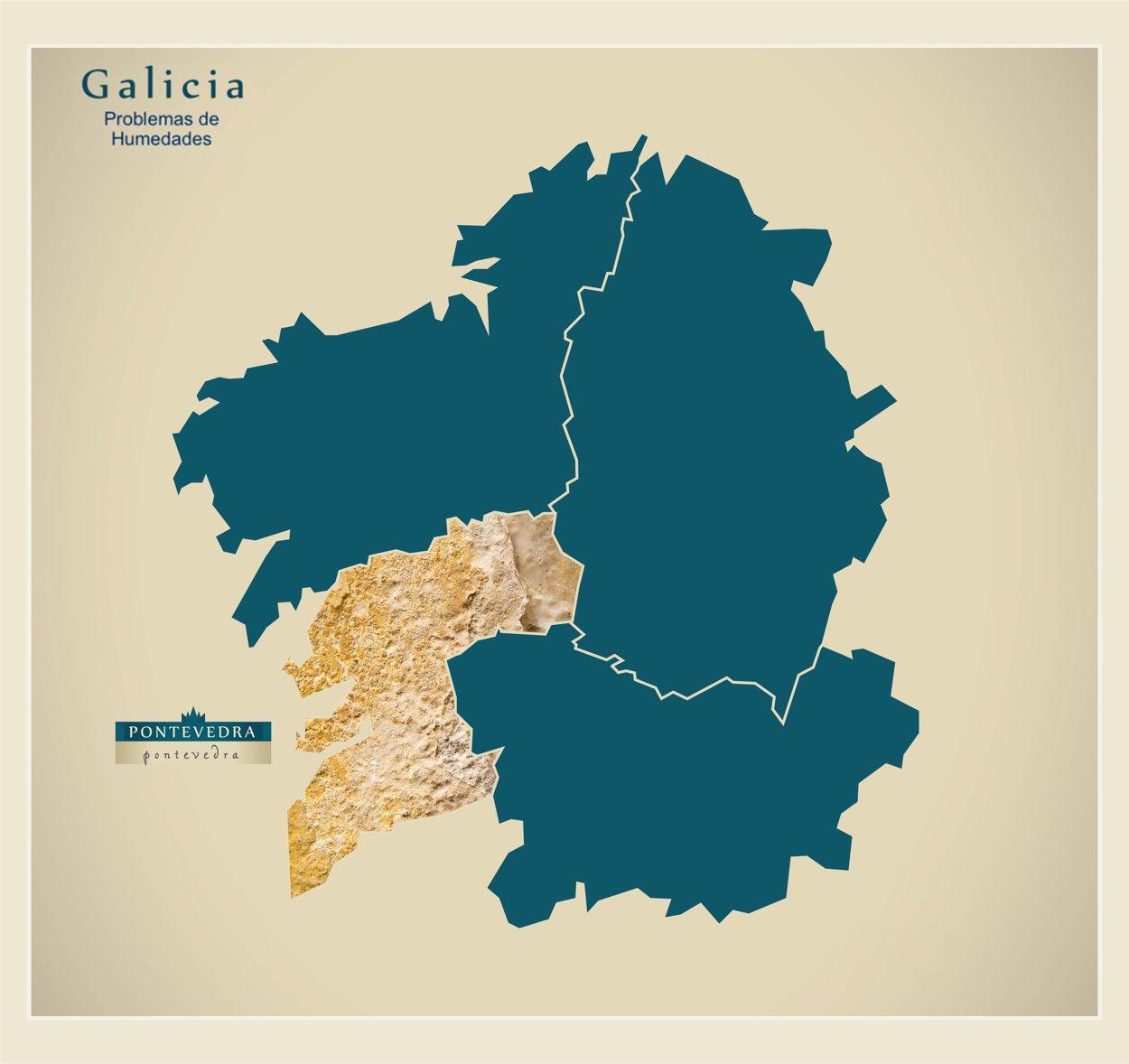 Humedades en Pontevedra