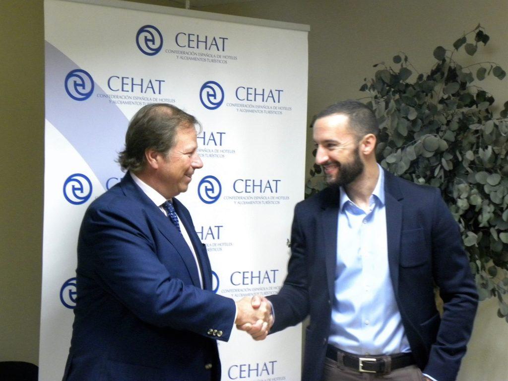 Murprotec firma un acuerdo de colaboración con la Confederación Española de Hoteles y Alojamientos Turísticos