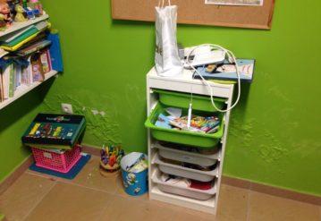 humedad por capilaridad en habitaciones de niños