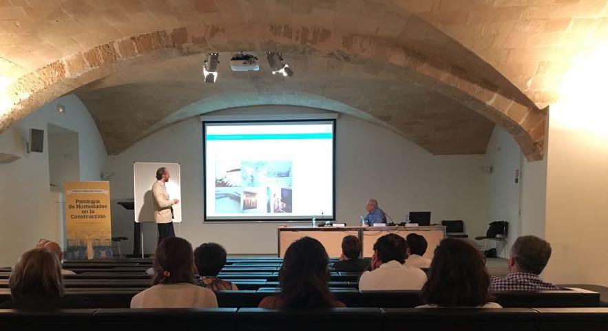 jornada sobre Patologías de las humedades estructurales en Mallorca
