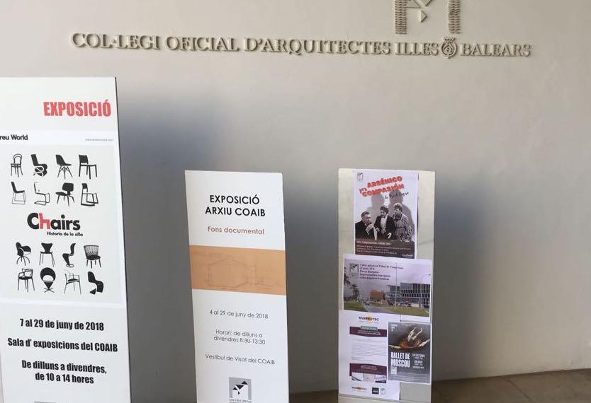 el Col-legi Oficial D'Arquitectes Illes Balears
