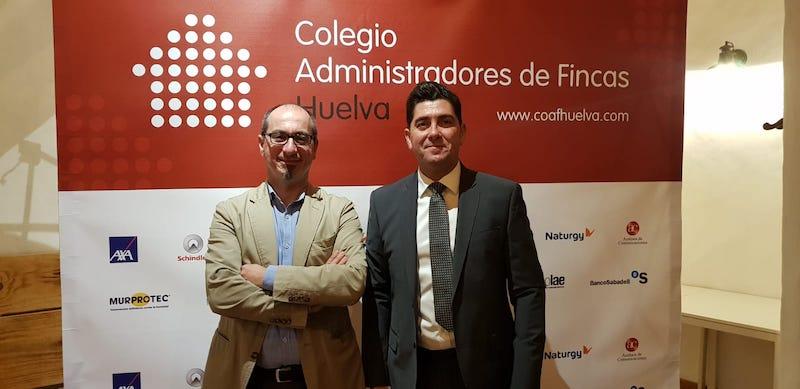 Juan Federico Gallardo y Javier Maestre, de Murprotec.