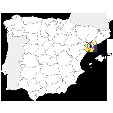 Mapa humedades en Tarragona
