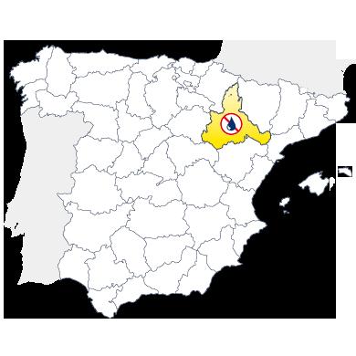 Mapa humedades Zaragoza