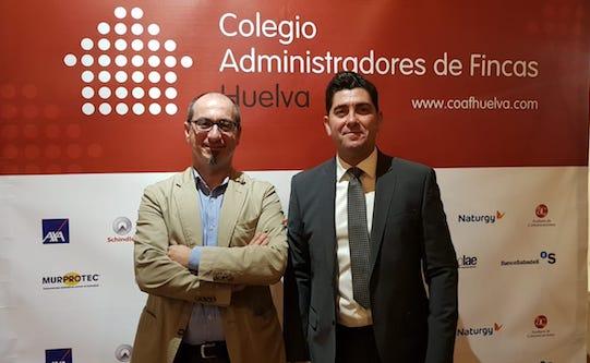 Murprotec participa en la cena aniversario del Colegio de Administradores de Fincas de Huelva
