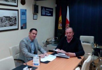 Firma convenio entre Murprotec y CAF Almería