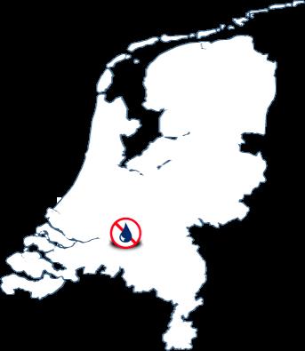 Mapa delegaciones Murprotec en Holanda