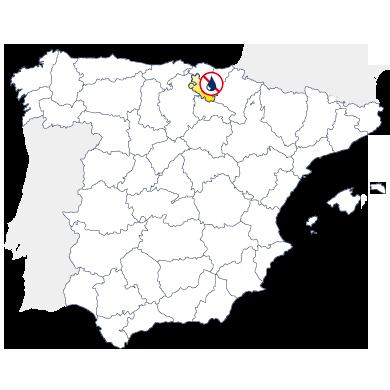 Mapa delegación Murprotec Alava