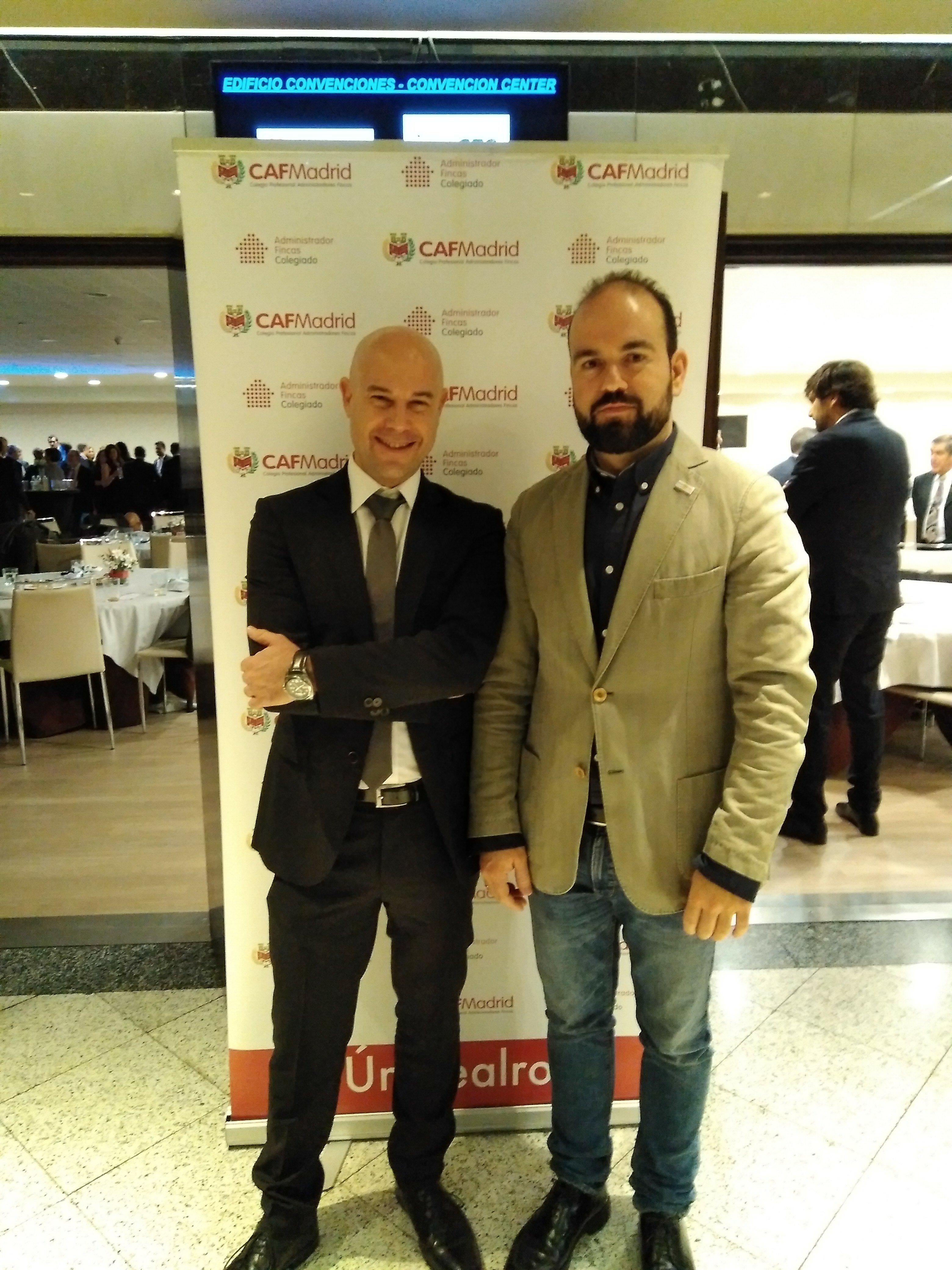 Enrique Rivera y Rubén Mesa, de Murprotec