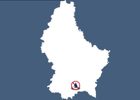 Mapa delegaciones Murprotec en Luxemburgo