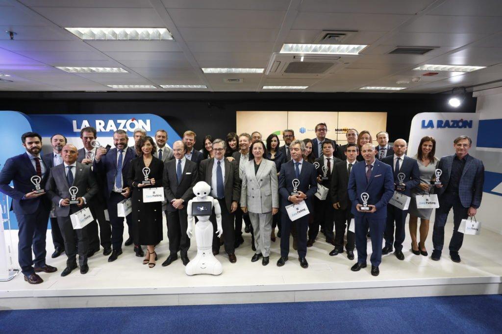 Foto de grupo de los III Premios Tecnología e Innovación.