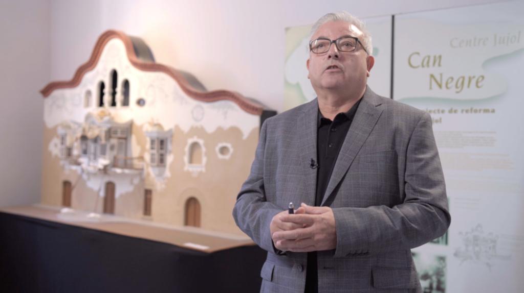 Ignacio Lago, director de Murprotec Cataluña en el edificio Can Negre
