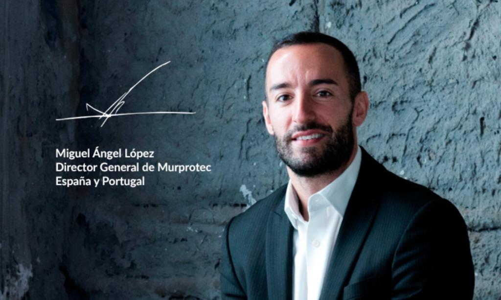 Miguel Ángel López, CEO Murprotec España y Portugal