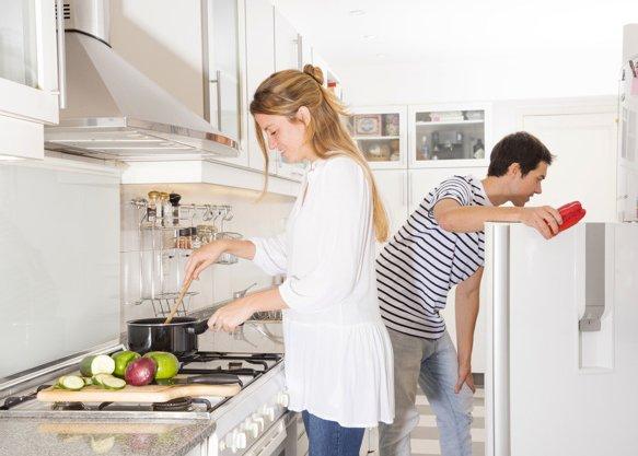 cómo evitar humedades en la cocina