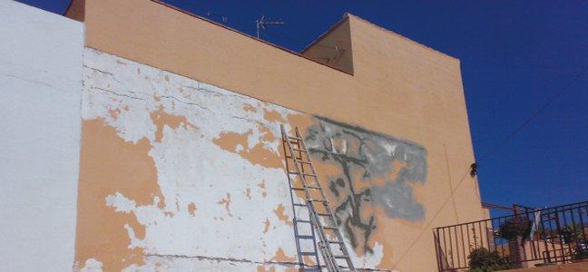 humedades por capilaridad, fachadas