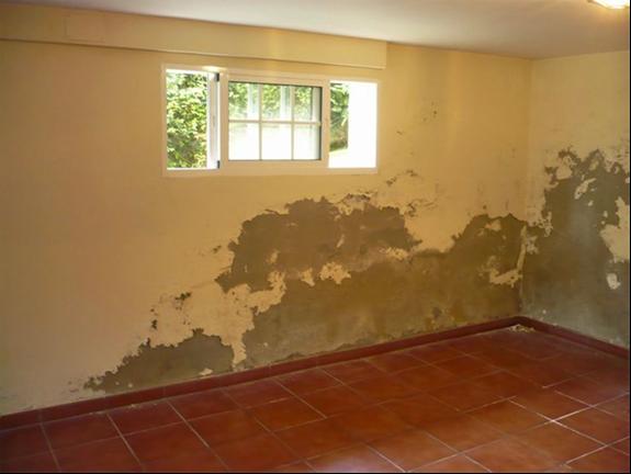 La humedad, una causa más de la depreciación de la vivienda