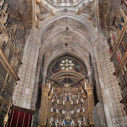 El retablo de la catedral de Ourense a salvo de las humedades