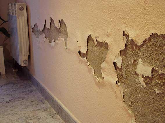 La soluci n a las humedades por capilaridad murprotec - Humedad en la pared ...