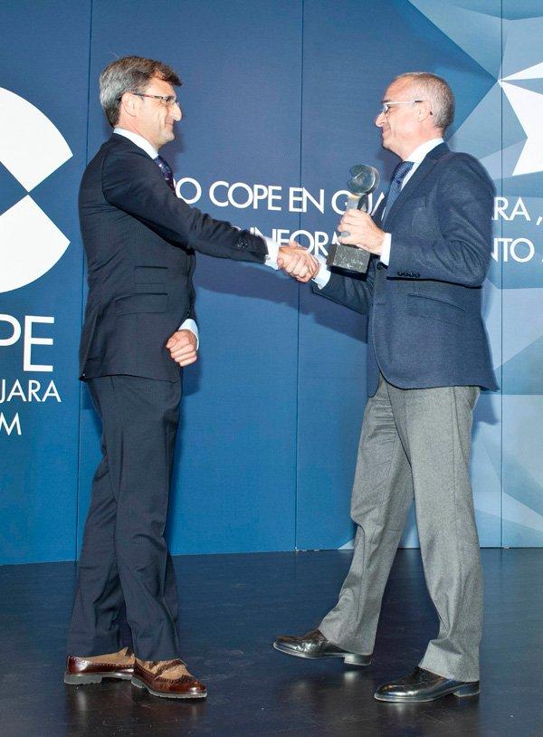 Murprotec recibe el Premio COPE Guadalajara a la Proyección Empresarial en Castilla La Mancha