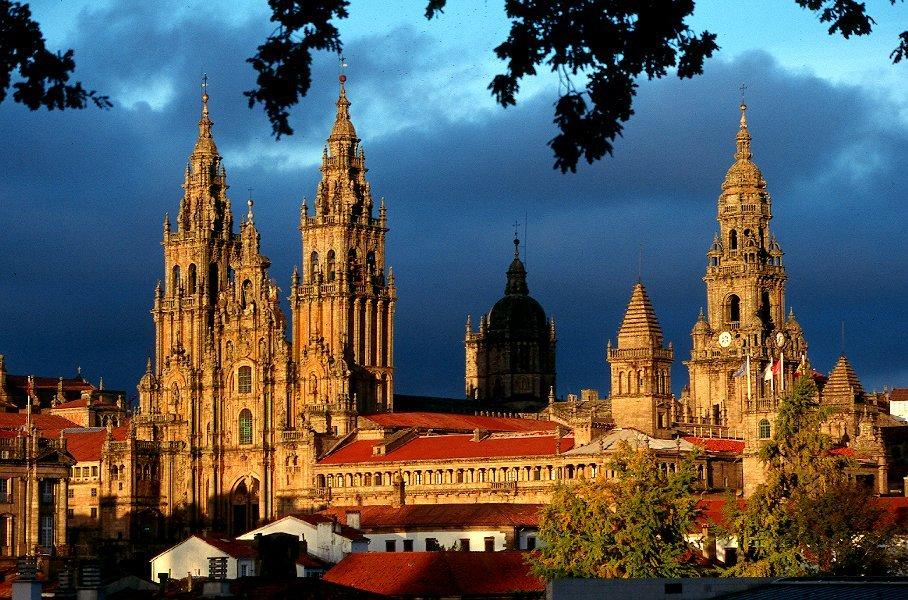 catedral, patrimonio, Santiago de Compostela,